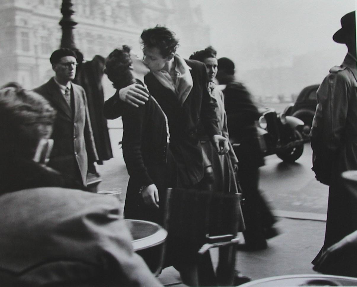 Paris, 1950. Cliché de Robert Doisneau.