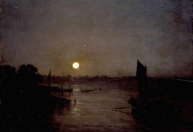 "William Turner, ""Moonlight, a Study at Millbank"", 1797"
