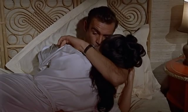 Screenshot from Dr. No, 1962