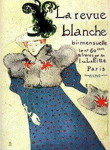 La Revue Blanche - Couverture par Toulouse-Lautrec - 1895