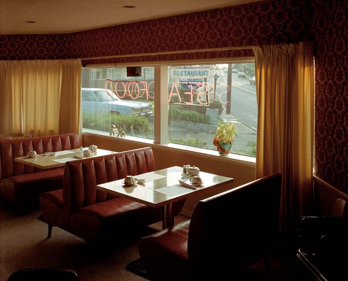 Stephen Shore, Sugar Bowl Restaurant, Gaylord, Michigan, 1973