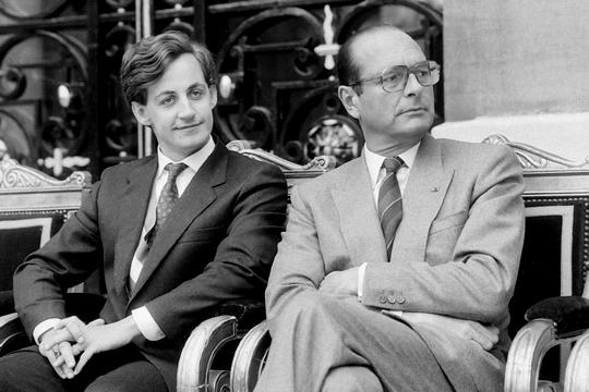 Chirac et Sarkozy