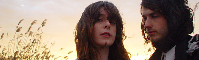 Victoria Legrand et Alex Scally, membres du groupe Beach House