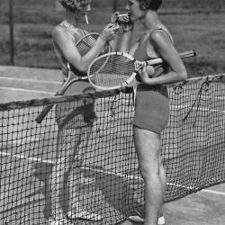 Old fashion Tennis