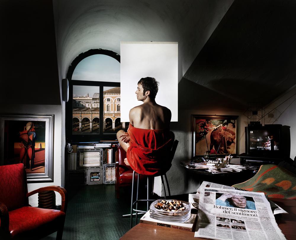 Aurore Valade - Il signore dei sentimento, série Ritratti, Torino, (Portraits, Turin), Italie, 2010